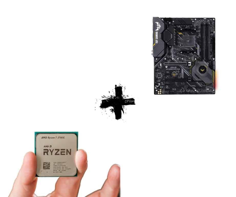 AMD Ryzen Top Motherboard CPU Combo 2020