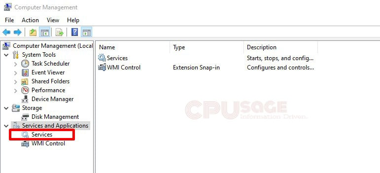 Windows Management Instrumentation service (WMI) Provider Host CPU Usage