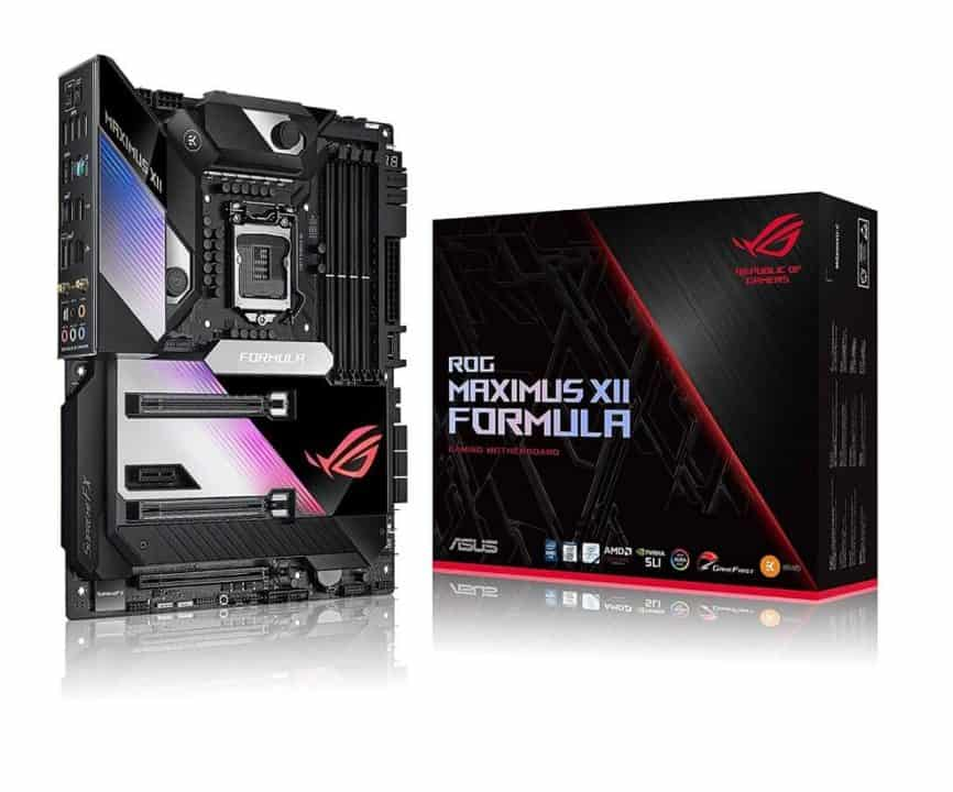 ASUS ROG Maximus XII Formula Z490 – Best Premium Motherboard for Intel Core i7-10700k