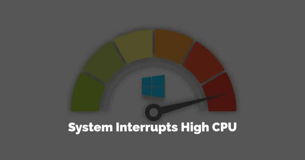 System Interrupts High Processor