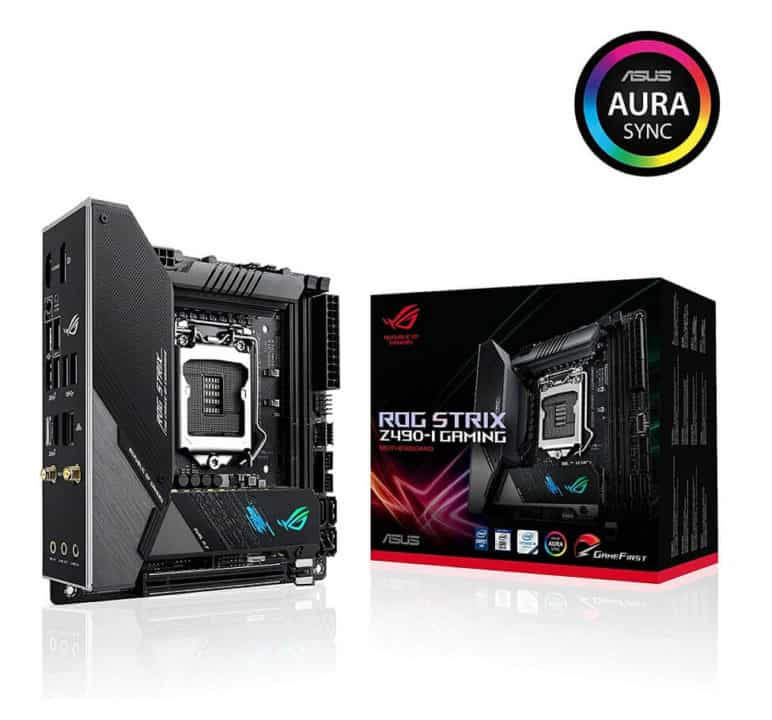 ASUS ROG Strix Z490-I Gaming (WiFi 6) – Best Mid-range motherboard for Intel Core i5-10600K