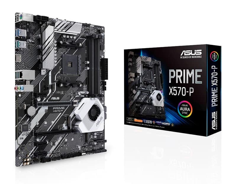 ASUS Prime X570-P - Best cheap X570 Motherboard for Ryzen 7 3700X