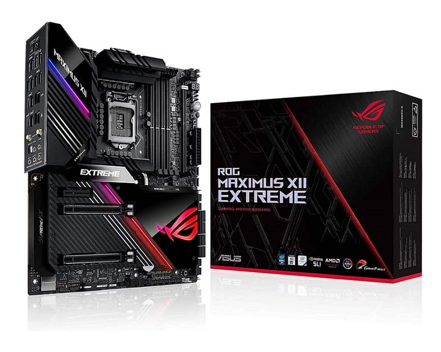 ASUS ROG Maximus XII Extreme - Best Premium Z490 MOBO for Intel Core i7-10700K