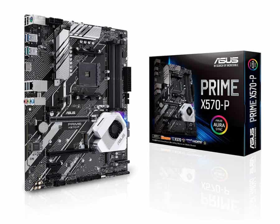 ASUS Prime X570-P – Best Entry-level AMD Ryzen 9 3900X Motherboard