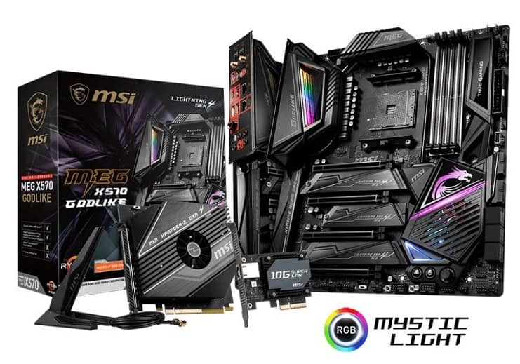 MSI MEG X570 GODLIKE Motherboard is the Ultimate MOBO For Ryzen 9 5950X CPU