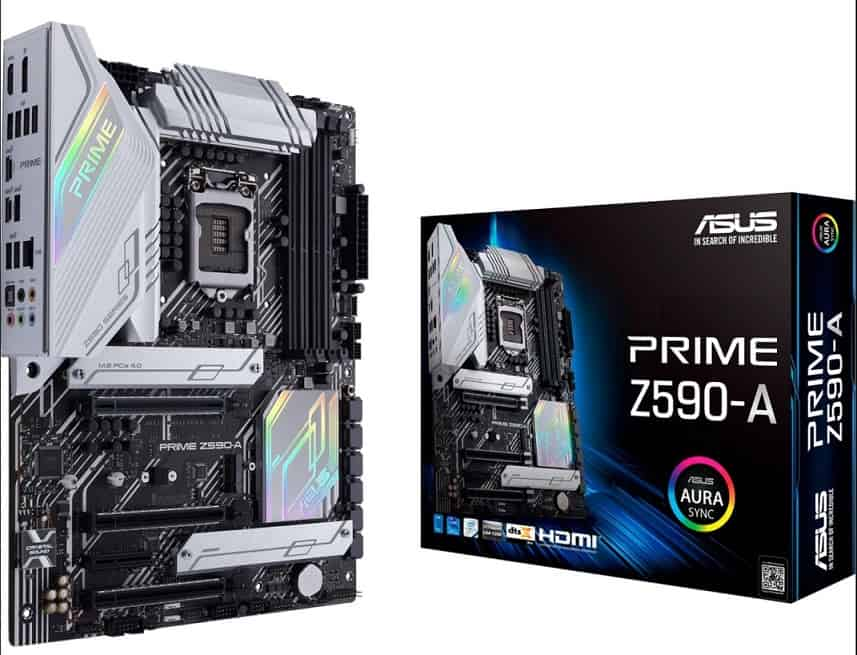ASUS Prime Z590-A LGA 1200 Motherboard for Intel i9 11th gen MOBO
