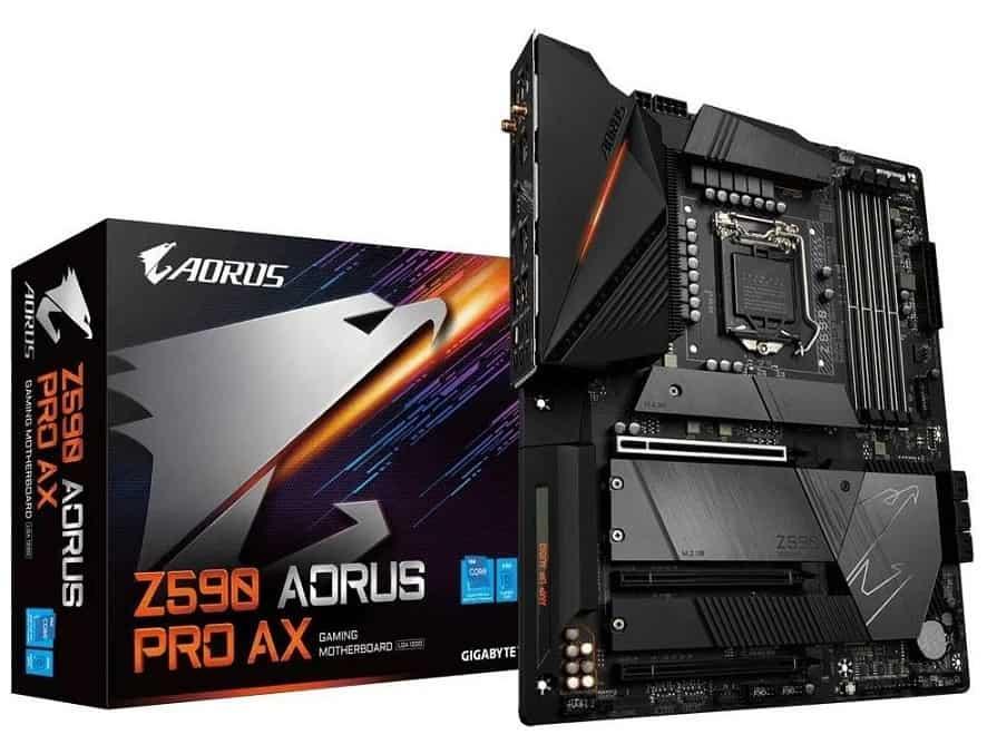 GIGABYTE Z590 AORUS PRO AX – Best Mid-range Motherboard